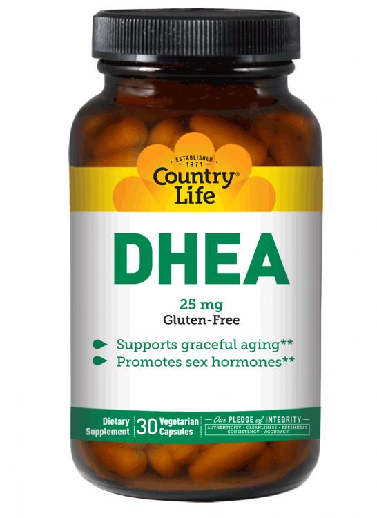 Country Life Vitamins Dhea