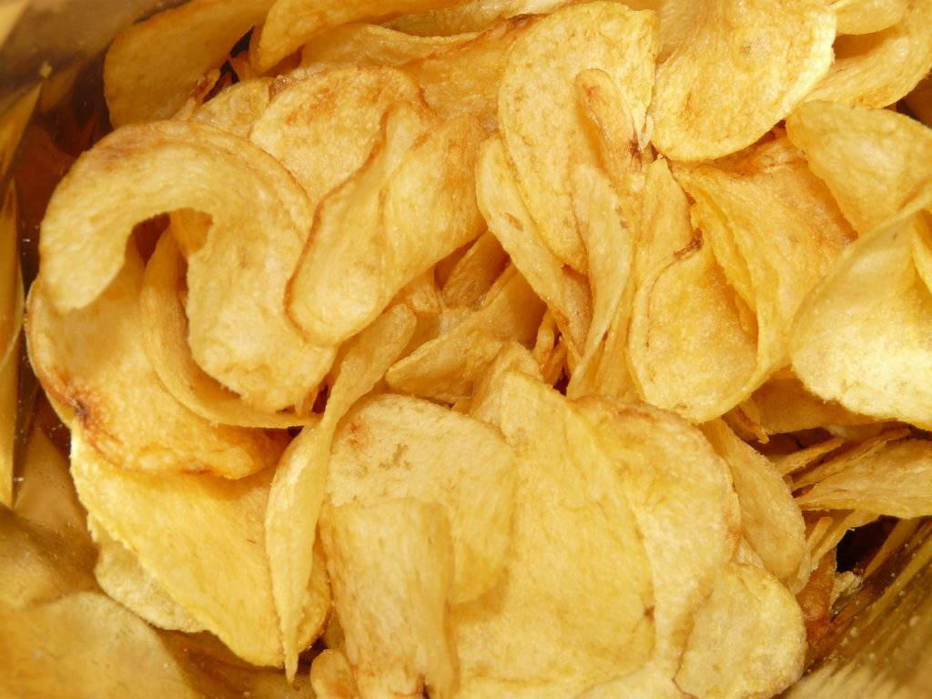 "What snack food was legally barred from calling its product ""chips"