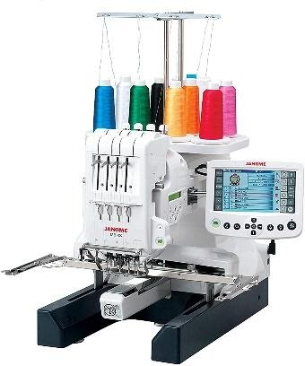 Janome MB-4S Multi Needle Embroidery Machine
