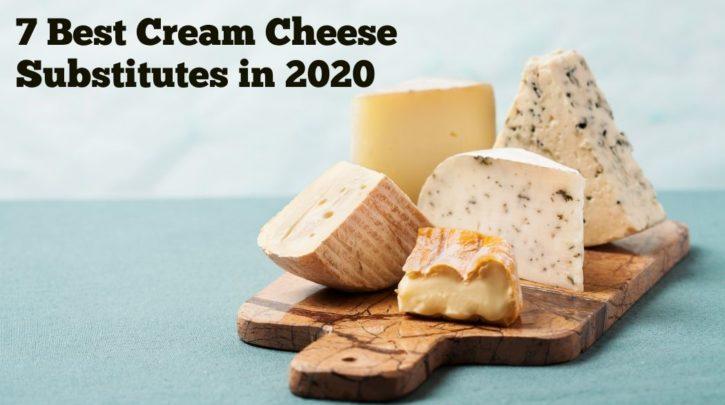 best cream cheese substitutes