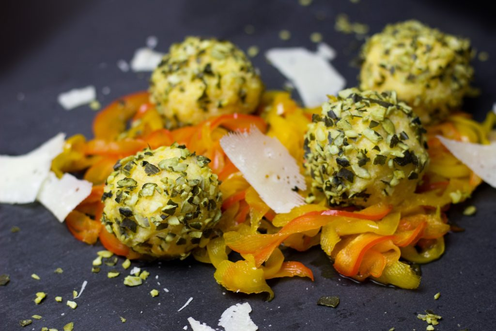 polenta - cornmeal substitute